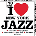 I love New York Jazz 10 CDs