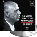Brahms, Sinf. Nr. 3 + Borodin, Sinf.Nr.2 (Mitropoulos)