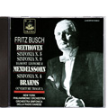 Fritz Busch: Beethoven, Sinf.Nr. 5 & 9 2CD ADD