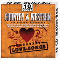 Country & Western Love Songs 10-CD-Box